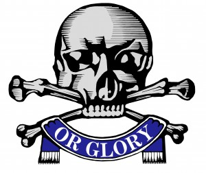 Death Or Glory iron on patch Queen's Royal Lancers