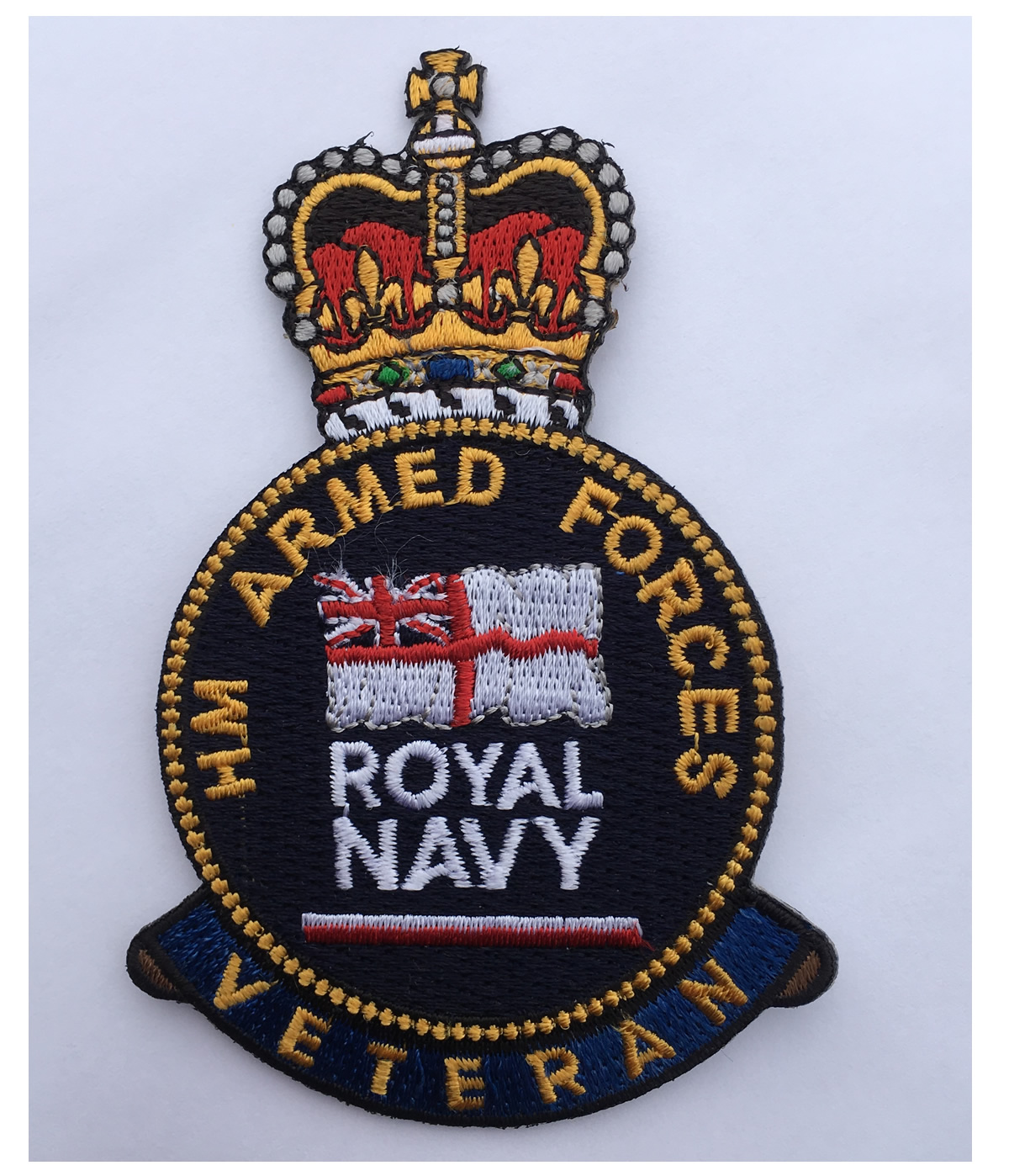 Royal Navy Veteran Patch