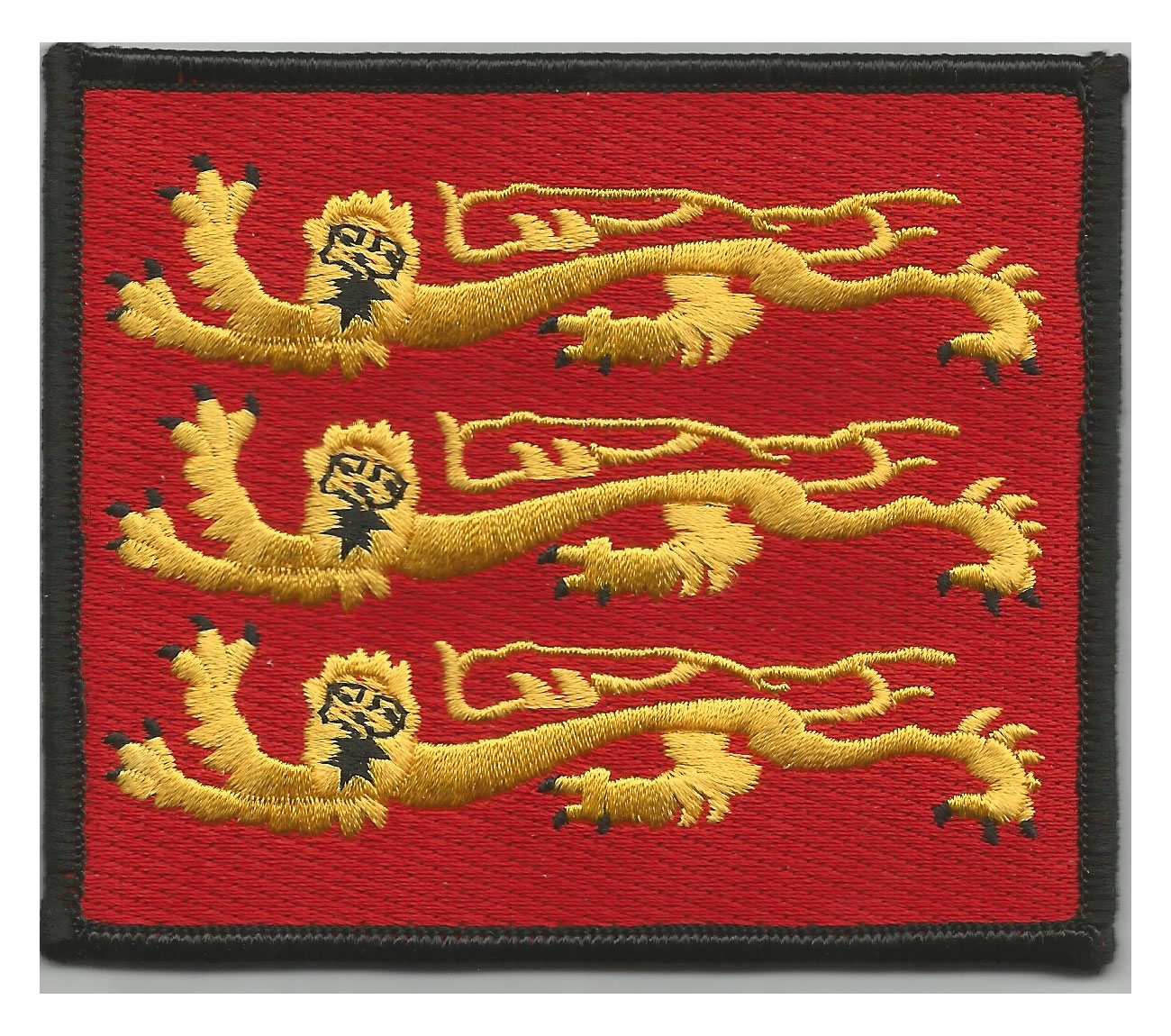 Three Lions embroidered patch