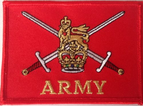 British Army iron or sew on patch