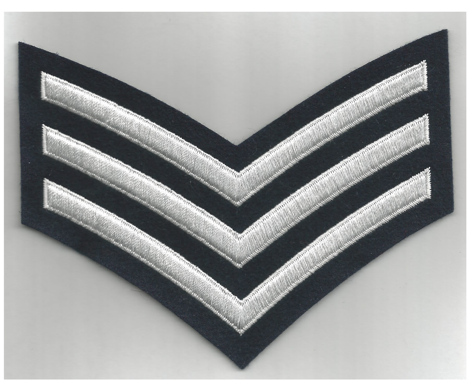 British Royal Air Force WWI/WWII style Sergeant Stripes