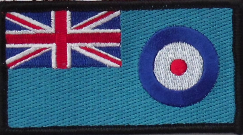 Royal Air Force Police Corporal Embroidered Patch - Click Image to Close