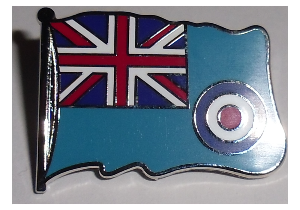 Royal Air Force Ensign Pin badge