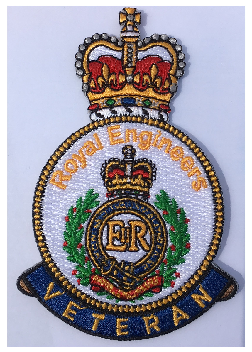 Royal Engineer Veteran Patch