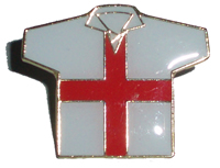 England shirt pin badge