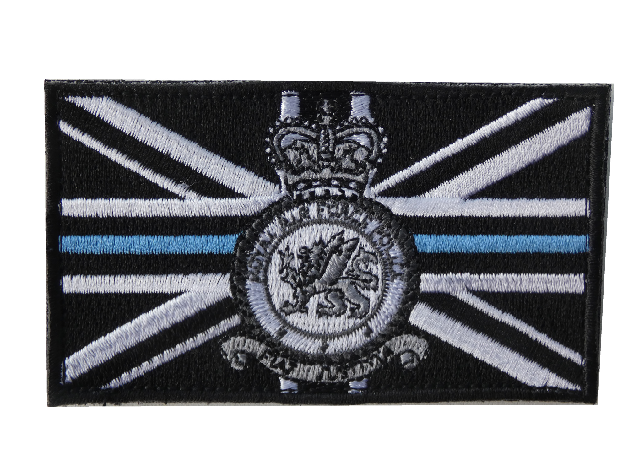 Thin Blue Line RAF Police velcro patch