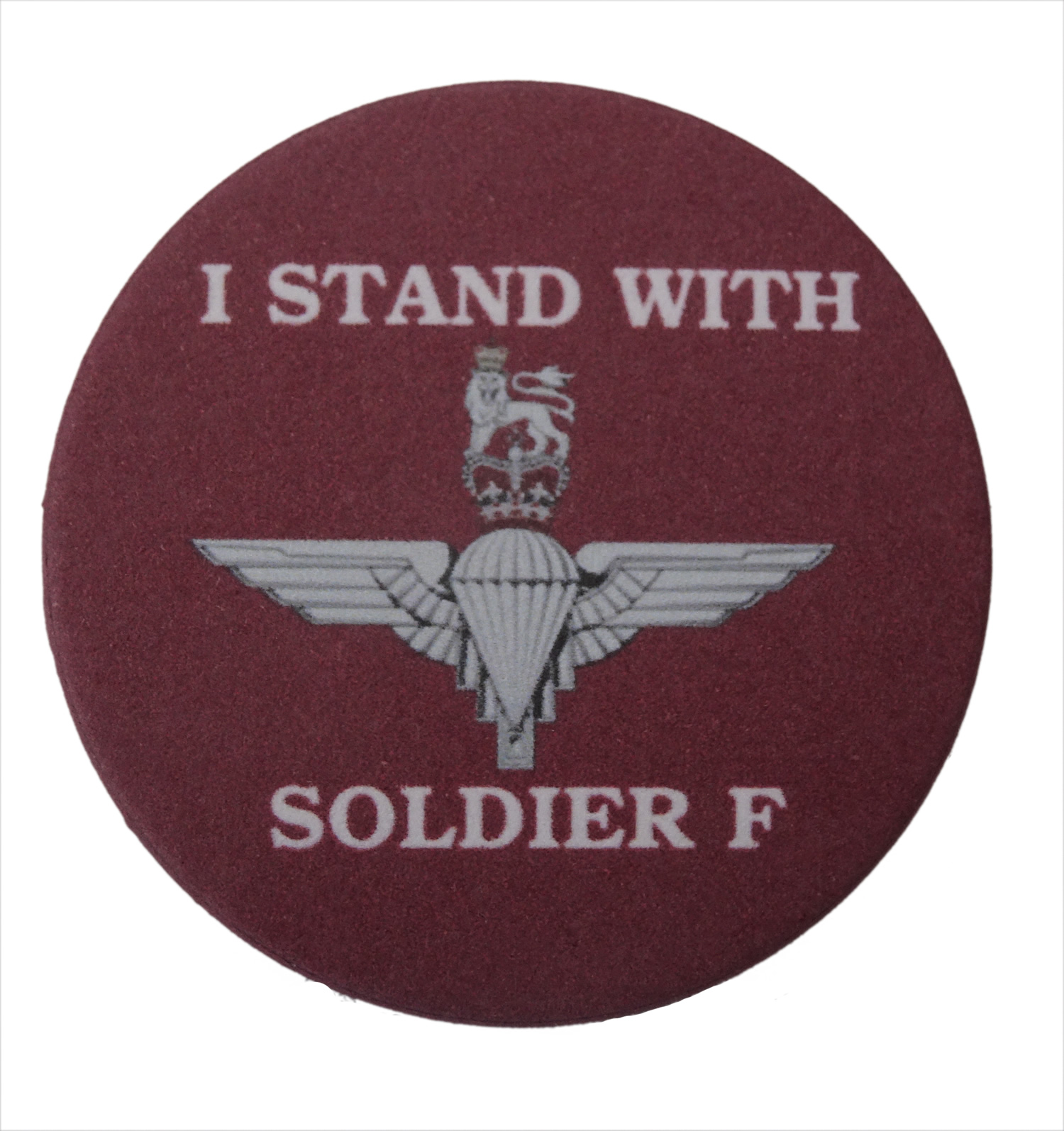 I stand with soldier F badge