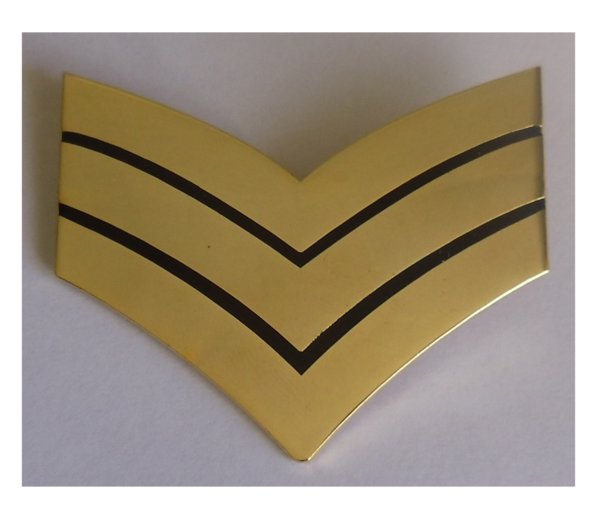 Metal Sgt Stripes