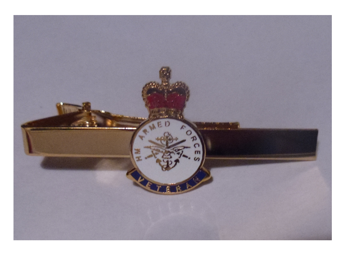 HM Armed Forces Veteran tie pin - Click Image to Close